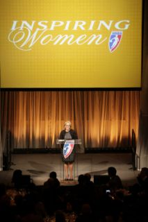 2011 Inspiring Womens Luncheon, New York, NY   May 24: Katie Couric Photographic Print by Steve Freeman