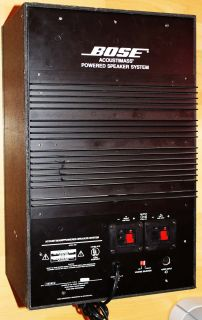BOSE Acoustimass 5   I POWERED SPEAKER SYSTEM AKTIV   SUBWOOFER AN