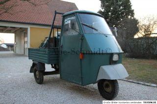Piaggio Ape 50 TL2T Elestart P50 Vespa TM Bj ´74