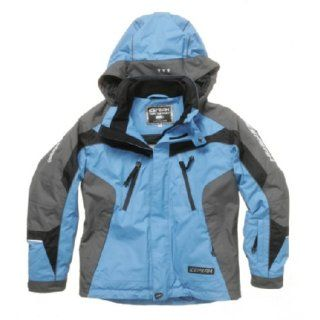 Ice Peak Skijacke Kinder, royal/anthrazit: Sport & Freizeit