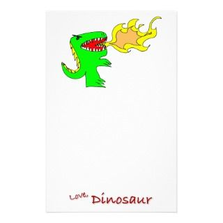 Dinosaur or Dragon Art by little t + Joseph Adams Stationery