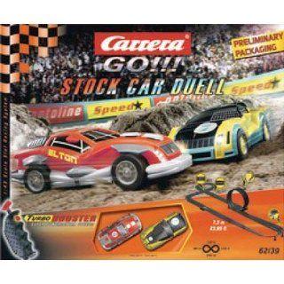 Carrera GO !!! Stock Car Race Bahn 1707062, 7,3m, 2 Fahrzeuge mit