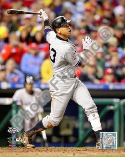 Alex Rodriguez Game three of the 2009 MLB World Series Photo