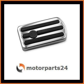 Harley Davidson Chrome & Rubber Bremspedal Groß 42478 95