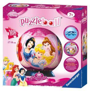 108 T. Ravensburger DISNEY PRINCESS Puzzleball * 116195 * NEU