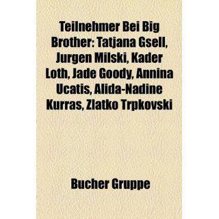 Teilnehmer Bei Big Brother Tatjana Gsell, Jurgen Milski, Kader Loth