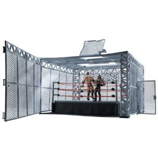 Wwe The Cell Cage Match Ring Playset