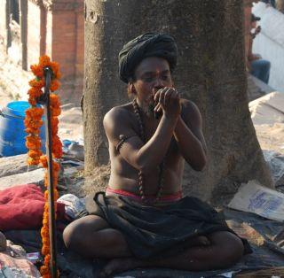 Mala aus 108 Rudraksha Baum Samen Tibet Nepal Om