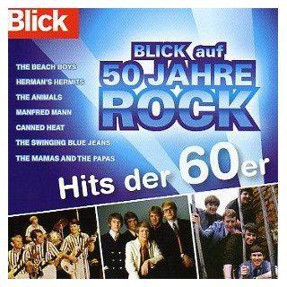 Blick auf 50 Jahre Rock Hits der 60er Jahre Musik