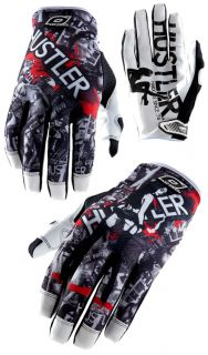 NEAL Jump Glove HUSTLER MX Moto Cross MTB BMX Motorrad Handschuhe S