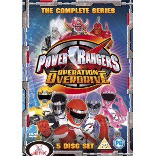 Power Rangers Operation Overdrive Complete Series UK Import