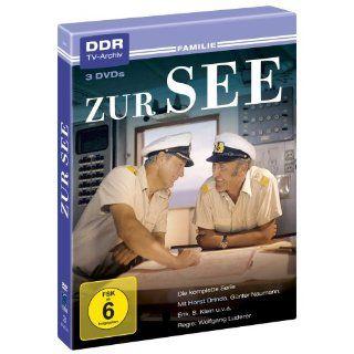 Zur See   Die komplette Serie [3 DVDs] Horst Drinda