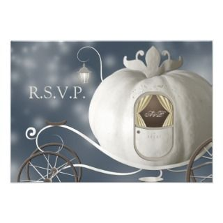 True Fairy Tale Wedding RSVP Invites