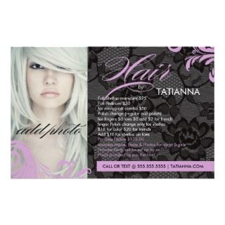 Nail Salon Flyers, Nail Salon Flyer Templates and Printing