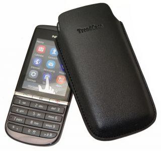 Nokia Asha 300   DESIGN* Etui Tasche Handytasche Hülle Bag Case