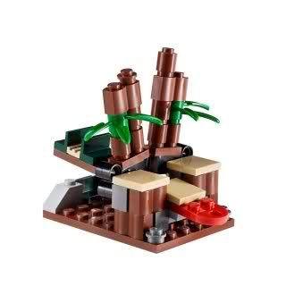 LEGO NINJAGO NINJA HINTERHALT Go Zubehör Zusatz Set