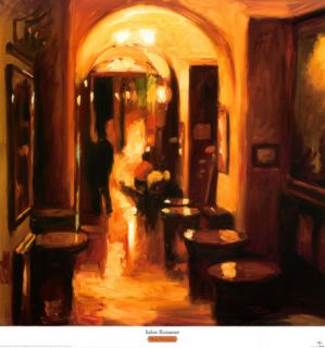 Italian Restaurant Prints by Pam Ingalls