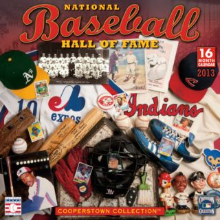 Baseball Hall of Fame   2013 16 Month Calendar Calendars