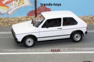 08043 NOREV 118 1977 VW GOLF GTI 1 Rabbit weiss ****NEU****