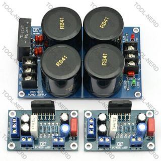 LM3886TF Audio High Power Amplifier+Power Supply Rectifier Filter