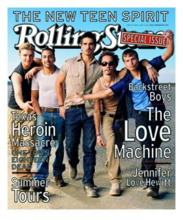Backstreet Boys, Rolling Stone no. 813 (cover B), May 1999 Photographic Print by Mark Seliger