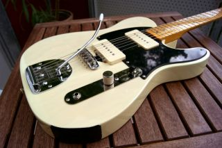 Squier 50`s Classic Vibe Tele, modded Jazzmaster Parts