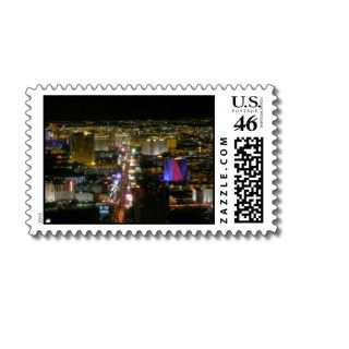 North Las Vegas Strip Postage Stamps