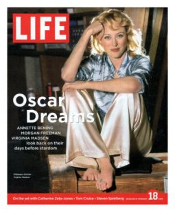 Actress Virginia Madsen Barefoot Backstage at the Wilshire Ebell Theater, February 18, 2005 Photographic Print by Guy Aroch