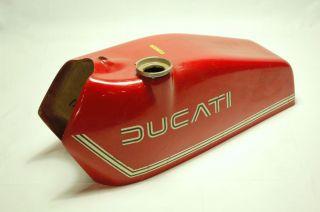 Ducati 125 Regolarità Fuel Tank