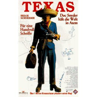 Texas   Doc Snyder hält die Welt in Atem [VHS] Peter Thoms, Buddy