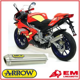 Auspuff Arrow Titan Aprilia RS 125 07/10
