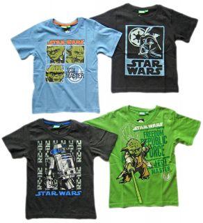 Star Wars Jungen T Shirt 116 122 128 134 140 146 152 158 neue