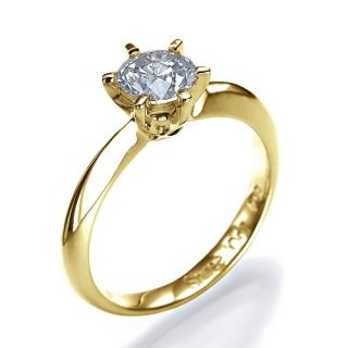 50 Carat D/SI Diamantring 585 14kt Gold Solitar Brilliant Ring Wert