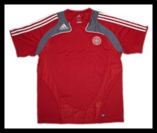 Adidas Kinder Fussball Trikot Sport Shirt rot 128 176