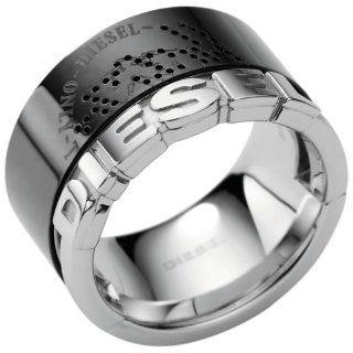 Diesel DX0364 Herren Ring DX 0364 Edelstahl schwarz