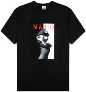 Nintendo   Black n White Mario Shirt