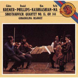 Shostakovich String Quartet No. 15 / Gubaidulina Rejoice