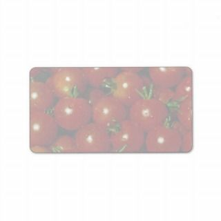 Sweet cherry tomatoes texture custom address labels