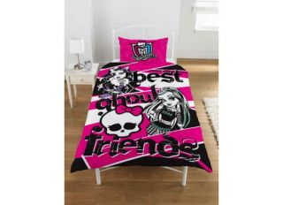 Monster High Bettwaesche Bettgarnitur Best About Friends Ghoul Spirit