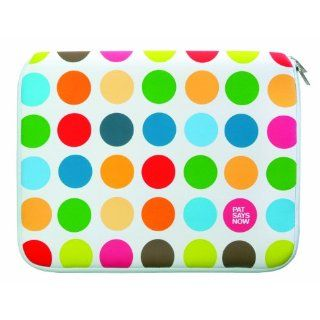 Pat Says Now Polka Dots Notebooktasche bis 43,18 cm: