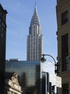 Grand Central Station Terminal Building and the Chrysler Building, New York, USA Photographic Print by Amanda Hall