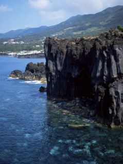 Volcanic Coastline, Island of Sao Jorge, Azores, Portugal, Atlantic Photographic Print by David Lomax