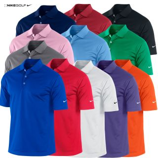 Polo Shirt T Shirt Herren Nike UV Stretch 2012 Tech Einfarbig Logo Am