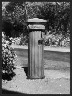 One of the Few Remaining Victorian Pillar Boxes to be Seen Today Photographic Print