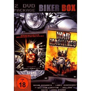 BIKER BOX 2 DVDs Stone Cold   Kalt wie Stein & War Machines: