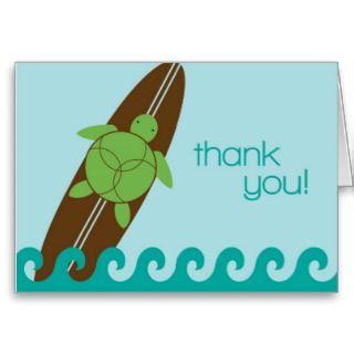 Sea Turtle Baby Shower or Birthday Invitat Invitations