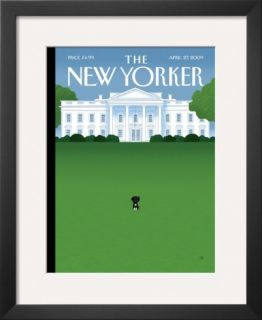 The New Yorker Cover   April 27, 2009 Framed Giclee Print by Bob Staake