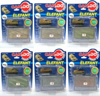Dragon Can.Do WWII German Tanks 1:144 scale Elefant / Ferdinand Series