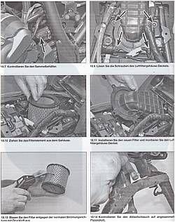 YAMAHA XT 660 X R Z Tenere, MT 03 Wartung & Reparatur Anleitung