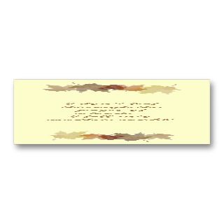 Customizable Bookmark Card Business Card Template